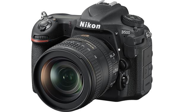 Nikon D500 Kit Front, angled view