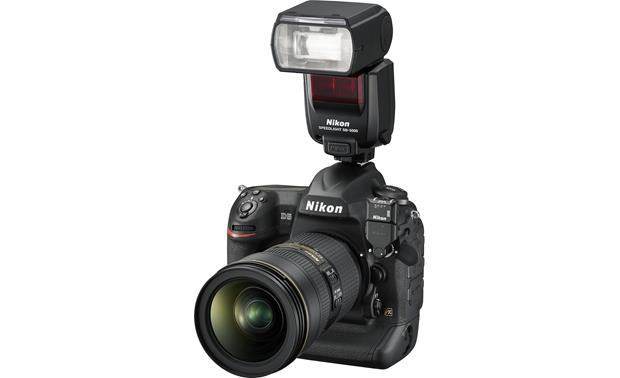Nikon SB-5000 Attached to camera (not included)