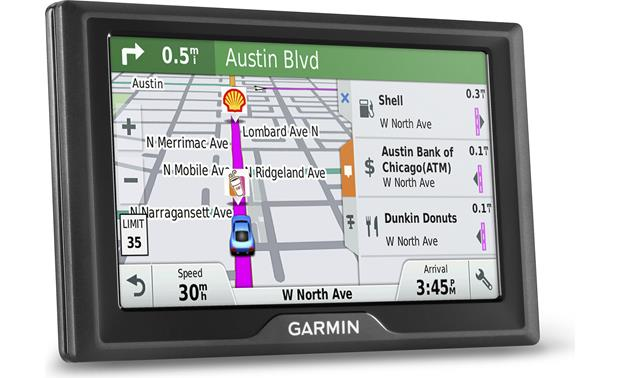Garmin Drive™ 50LMT Up Ahead with destinations