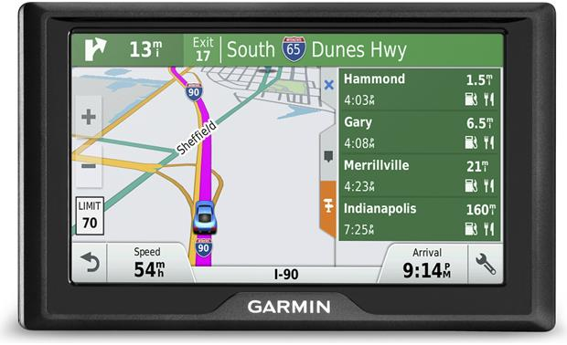 Garmin Drive™ 50LMT Up Ahead with milestones
