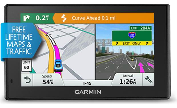 Garmin DriveSmart™ 50LMT Driver alerts keep you informed
