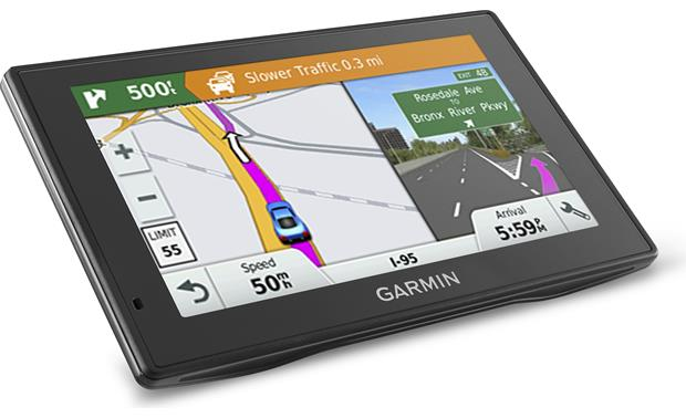 Garmin DriveSmart™ 50LMT Junction view and driver alert