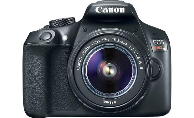 Canon EOS Rebel T6 Kit Front, straight-on