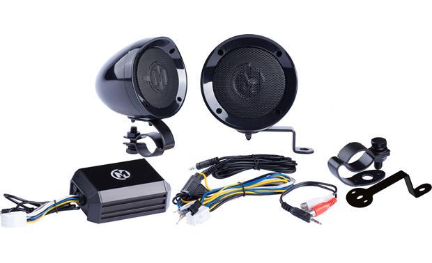 Memphis Audio 15 Mxahs Black All Terrain Speaker Pods And