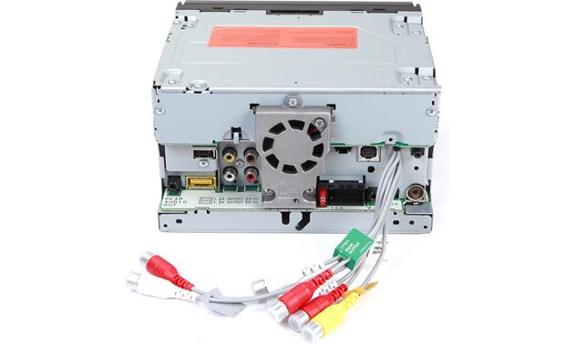 Pioneer AVH-4200NEX DVD receiver at Crutchfield