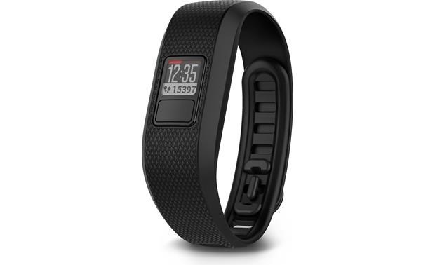 Regular Black Garmin Vivofit 3 Fitness Activity Tracker 010-01608-00