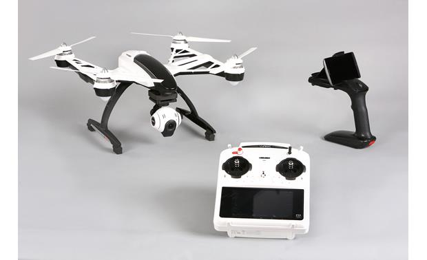 Yuneec Typhoon Q500+ RTF Quadcopter Bundle Front (smartphone not included)
