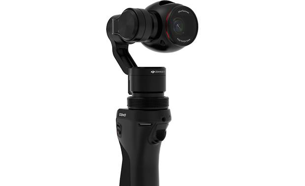 DJI Osmo Camera shoots 4K video at up to 25 fps