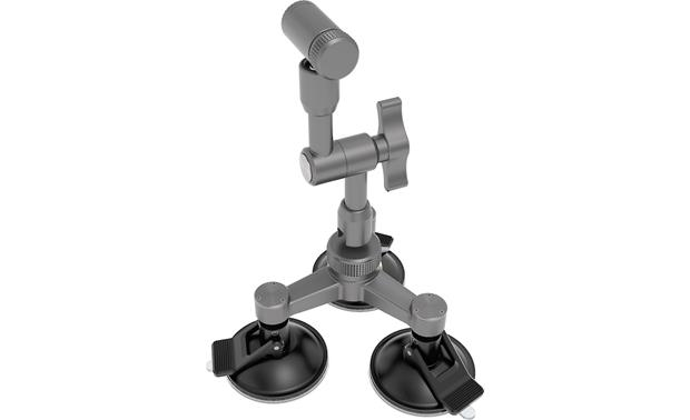 DJI Osmo Car Mount Suction cups allow you to mount your camera (not included) on any flat surface