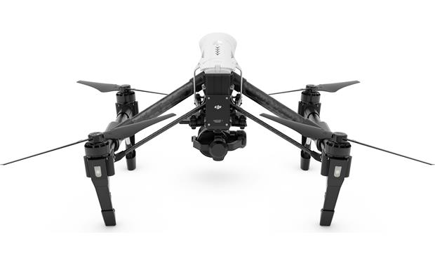 DJI Inspire 1 RAW The Zenmuse X5R camera captures stunning 4K video and still photos