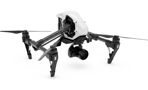 DJI Inspire 1 RAW Strong propellers and intelligent software ensures smooth flying, even in windy conditions