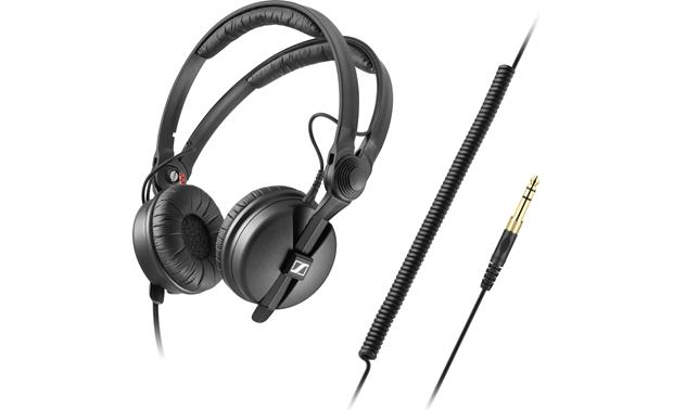Sennheiser HD 25 Plus Includes coiled and straight cables