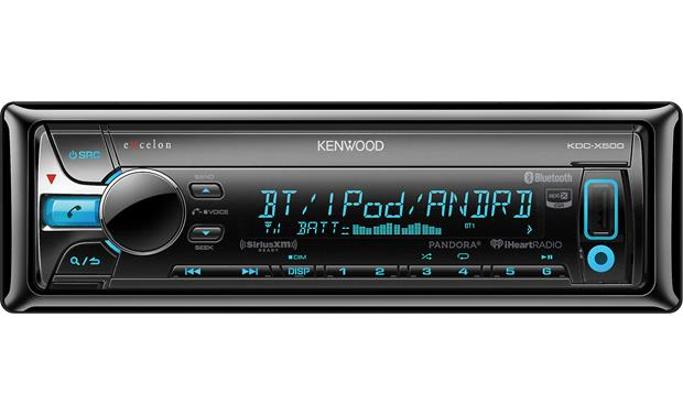 Kenwood Excelon KDC-X500 Bluetooth® with aptX® provides clear wireless audio streaming