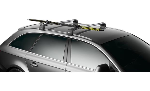 Thule SkiClick 7291 Ski Carrier Front