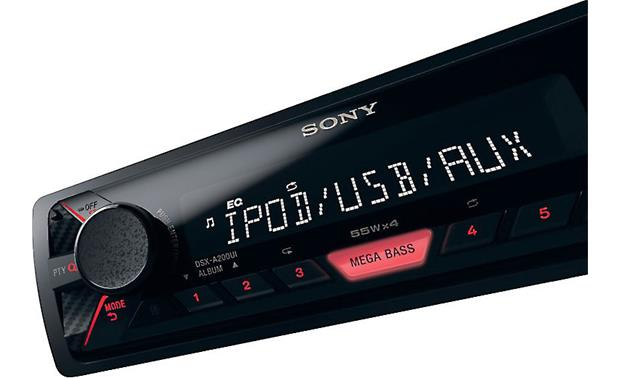 Sony DSX-A200UI Works with lots of devices