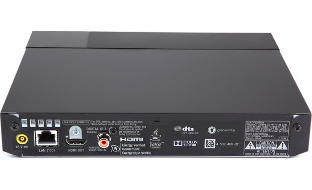 Sony BDP-S1700 Back