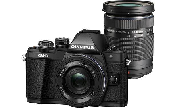 Olympus OM-D E-M10 Mark II Two Lens Kit Front