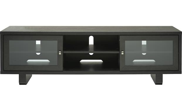 Sanus Jfv60 Espresso Lowboy Audio Video Stand For Tvs Up To 63 At