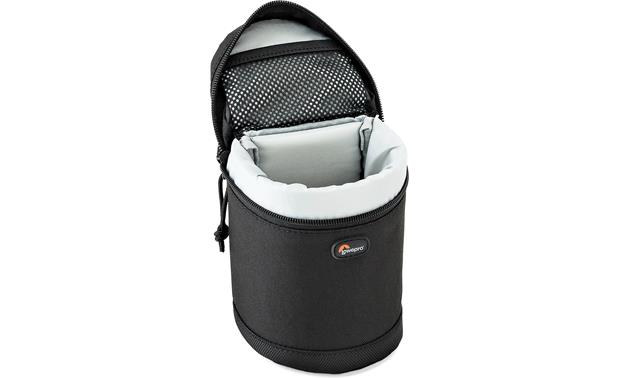 Lowepro Lens Case 8cm x 12cm Padded interior protects your valuable lenses