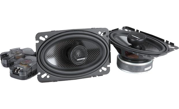 Memphis Audio 15-MCX46 Memphis Audio's MClass Series speakers give you swivel-mounted tweeters for more effective dispersal of the high range