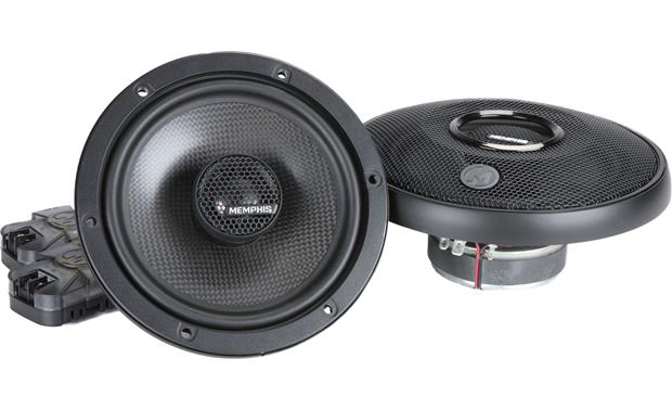 Memphis Audio 15-MCX6 Memphis Audio's MClass Series speakers give you swivel-mounted tweeters for more effective dispersal of the high range