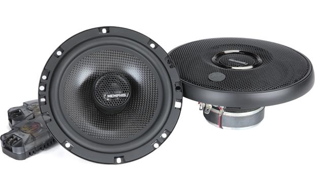 Memphis Audio 15-MCX60 Memphis Audio's MClass Series speakers give you swivel-mounted tweeters for more effective dispersal of the high range