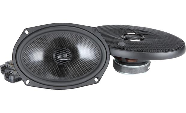 Memphis Audio 15-MCX69 Memphis Audio's MClass Series speakers give you swivel-mounted tweeters for more effective dispersal of the high range