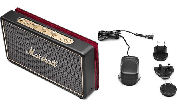 Marshall Stockwell Speaker with included accessories