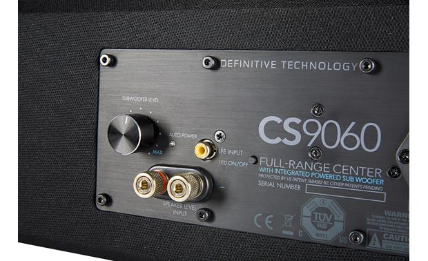 Definitive Technology CS-9060 Back connection panel