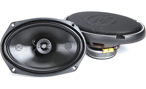 Memphis Audio 15-PRX692 The graphite-reinforced polypropylene woofer of Memphis Audio's Power Reference Series help make these speakers solid performers