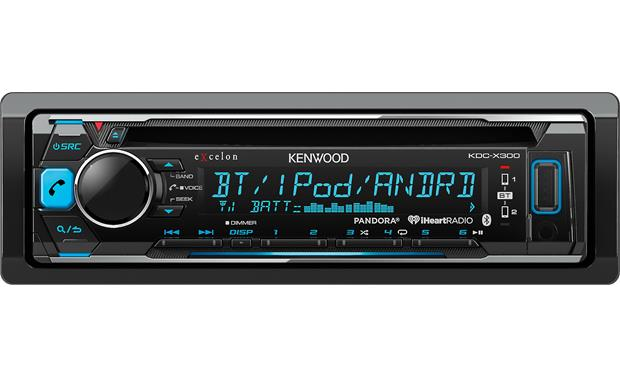 Kenwood Excelon KDC-X300 Pair up two phones using Bluetooth® and quickly switch between them