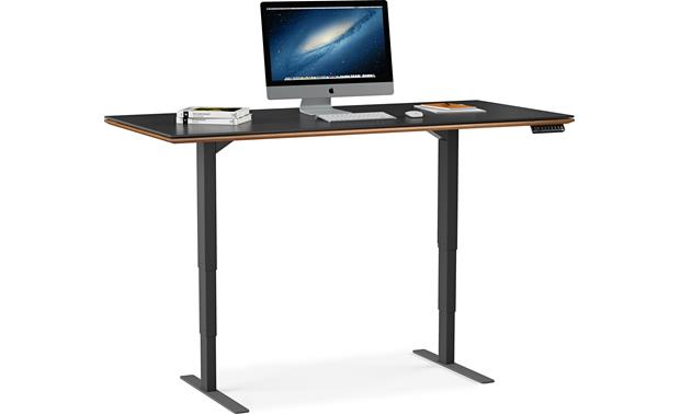 BDI Sequel 6052 Natural Walnut (computer and accessories not included)