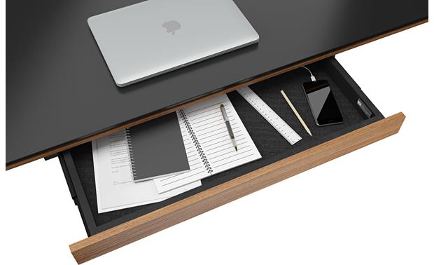 BDI Sequel 6059 Natural Walnut (drawer contents and laptop not included)
