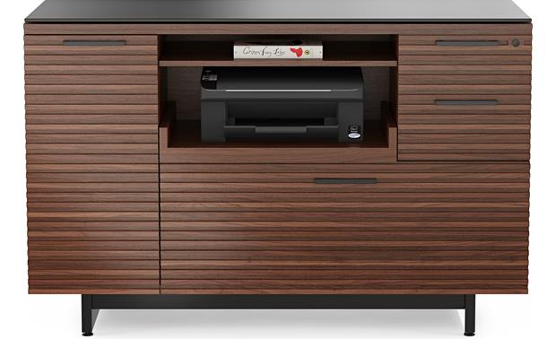 BDI Corridor 6520 Chocolate Stained Walnut (printer not included)