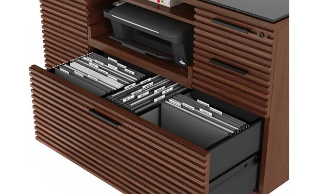 BDI Corridor 6520 Chocolate Stained Walnut - hanging file drawer (file folders not included)