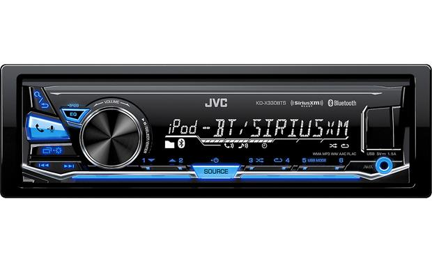 JVC KD-X330BTS digital media receiver (Refurbished)