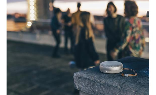 Bang & Olufsen Beoplay A1 In outdoor setting