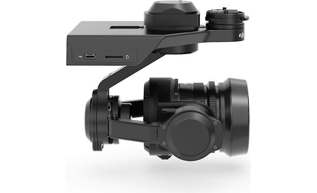 DJI Zenmuse X5R USB connection and microSD card slot