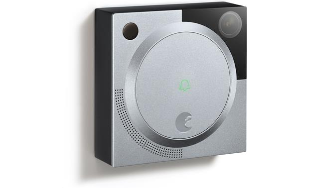 August Doorbell Cam The low-light camera gives you a clear picture, even at night
