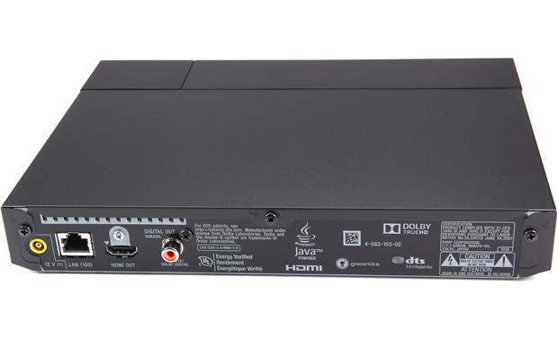Sony BDP-S6700 Back