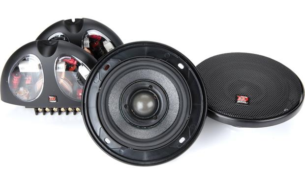 Morel Hybrid Integra 402 Morel builds the Hybrid Integra tweeter recessed in the woofer cone to improve imaging