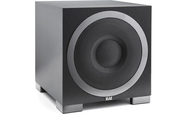 ELAC Debut S10EQ Angled front view