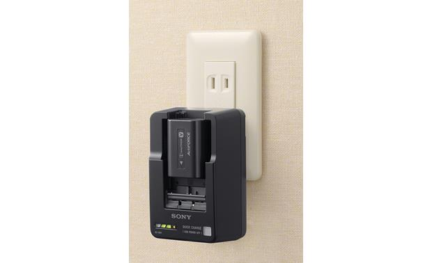 Sony BC-QM1 Plugs into standard AC wall outlet