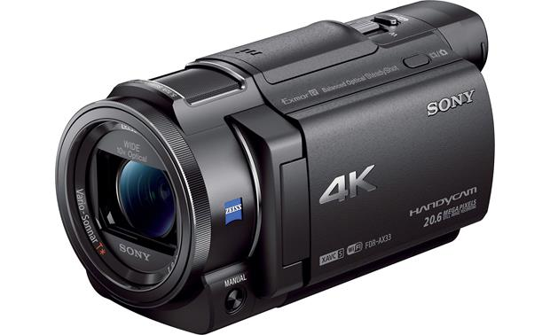 Sony Handycam® FDR-AX33 Compact design