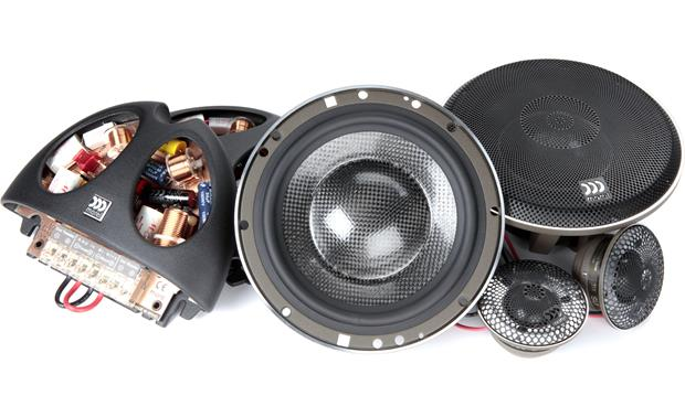 Morel Supremo 602 Morel's flagship component speaker system is handmade from superior materials