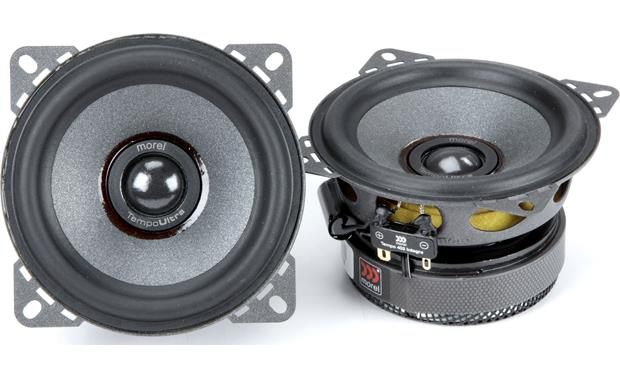 Morel Tempo Ultra Integra 402 Morel builds the Tempo Ultra Integra tweeter recessed in the woofer cone to improve imaging