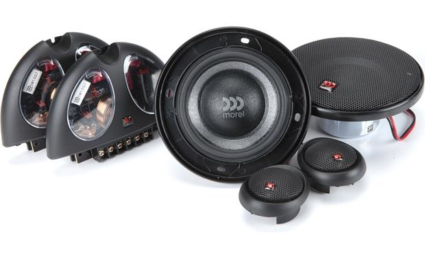 Morel Virtus 402 Morel component speakers are handmade from superior materials