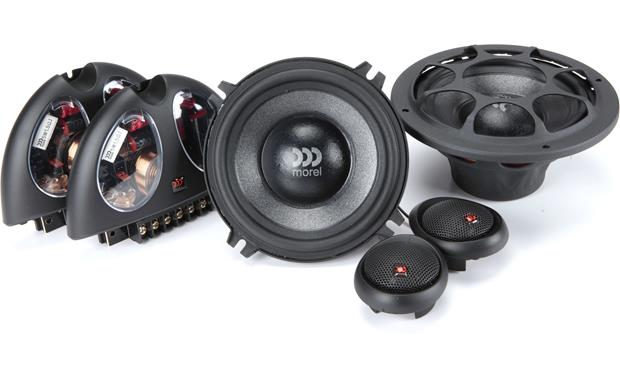 Morel Virtus 502 Morel component speakers are handmade from superior materials