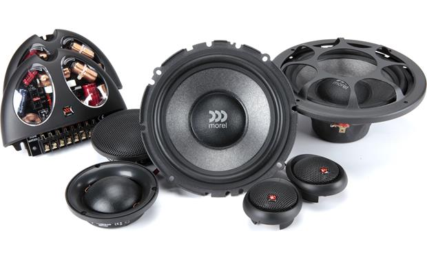 Morel Virtus 603 Morel component speakers are handmade from superior materials
