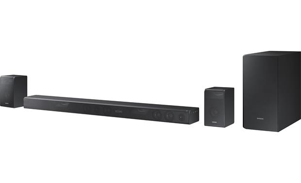 Samsung Hw K950 Includes Sound Bar Subwoofer And Surround Speaker Pair